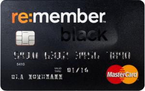re:member Black MasterCard