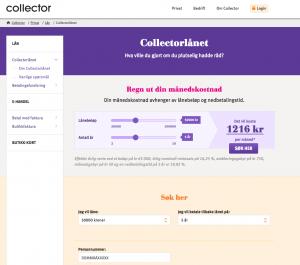 Collector-Skjermbilde