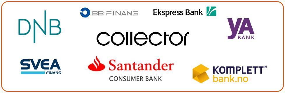 Bankene Aconto samarbeider med