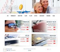 Hjemmesiden til Finansa